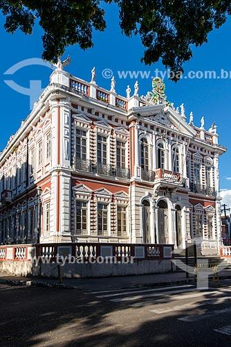 Fachada do Palácio do Paranaguá (1907) - sede da Prefeitura de Ilhéus  - Ilhéus - Bahia (BA) - Brasil