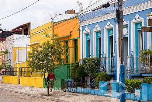 Casarios da Rua Rui Barbosa  - Itacaré - Bahia (BA) - Brasil