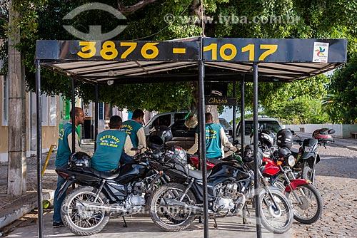 Ponto de moto táxi  - Belém de São Francisco - Pernambuco (PE) - Brasil