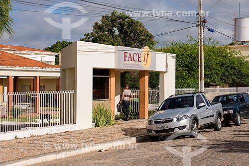 Fachada da Faculdade de Ciências Humanas e Exatas do Sertão do São Francisco - FACESF  - Belém de São Francisco - Pernambuco (PE) - Brasil