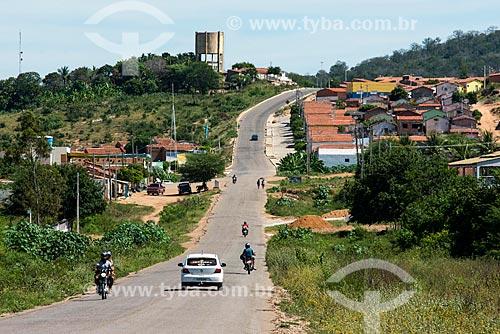 Rodovia PE-475 próximo à cidade de Cedro  - Cedro - Pernambuco (PE) - Brasil