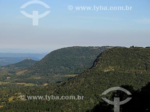 Vista geral do Vale do Quilombo  - Gramado - Rio Grande do Sul (RS) - Brasil