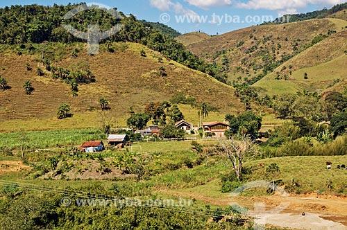 Vista de janela da Fazenda Santa Clara - considerada uma das maiores fazenda do século XIX  - Santa Rita de Jacutinga - Minas Gerais (MG) - Brasil