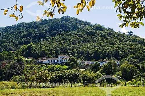 Vista geral da Fazenda Santa Clara - considerada uma das maiores fazenda do século XIX  - Santa Rita de Jacutinga - Minas Gerais (MG) - Brasil