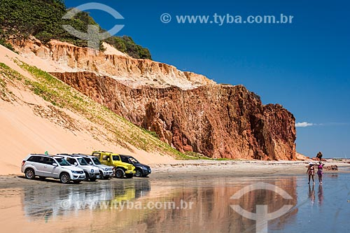 Passeio de Bugre na orla da Praia de Ponta Grossa  - Icapuí - Ceará (CE) - Brasil