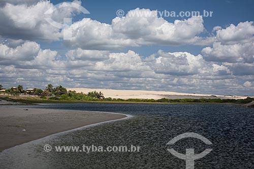 Vista geral da Lagoa do Uruaú  - Beberibe - Ceará (CE) - Brasil