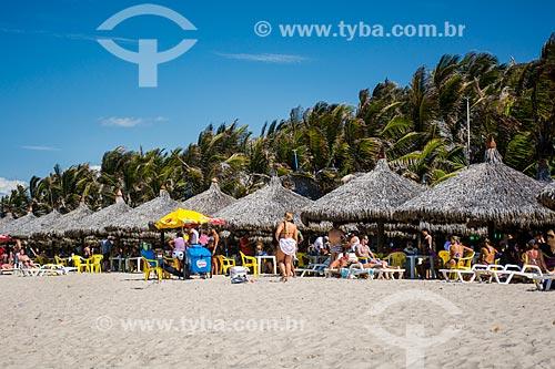 Quiosques na Praia do Futuro  - Fortaleza - Ceará (CE) - Brasil