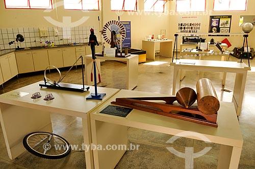 Sala de Física do CICC - Centro Integrado de Ciência e Cultura  - São José do Rio Preto - São Paulo (SP) - Brasil