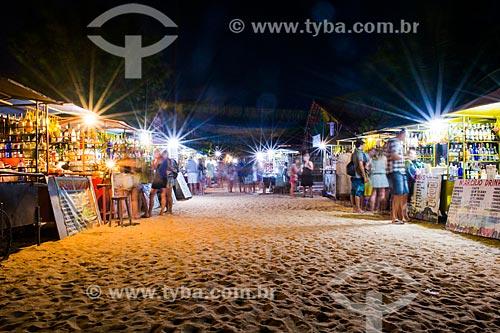 Bebidas à venda na Vila de Jericoacoara  - Jijoca de Jericoacoara - Ceará (CE) - Brasil
