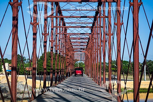 Ponte sobre o Rio Coreaú  - Granja - Ceará (CE) - Brasil