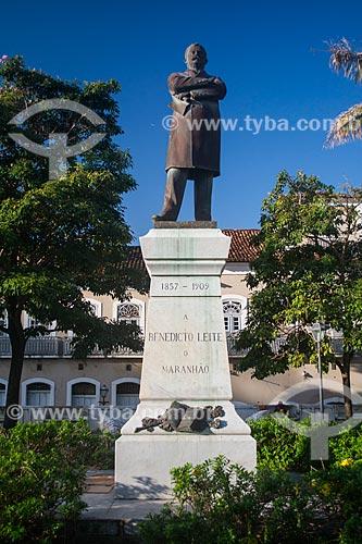 Estátua na Praça Benedito Leite  - São Luís - Maranhão (MA) - Brasil