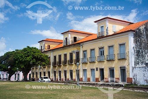 Fachada do Museu Casa Histórica de Alcântara (Século XIX)  - Alcântara - Maranhão (MA) - Brasil