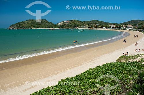 Vista geral da Praia da Ferradura  - Armação dos Búzios - Rio de Janeiro (RJ) - Brasil