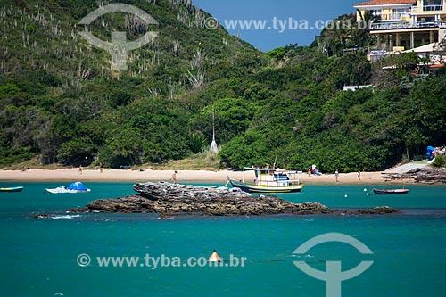 Traineira na Praia da Ferradura  - Armação dos Búzios - Rio de Janeiro (RJ) - Brasil
