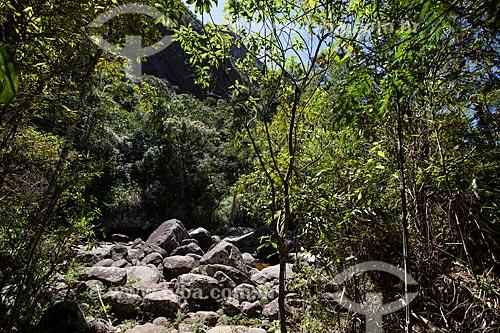 Poço Paraíso no Parque Nacional da Serra dos Órgãos  - Petrópolis - Rio de Janeiro (RJ) - Brasil