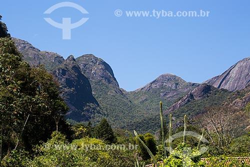 Vista geral do Parque Nacional da Serra dos Órgãos  - Petrópolis - Rio de Janeiro (RJ) - Brasil