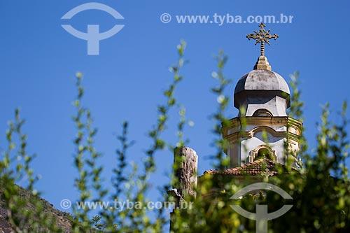 Detalhe da capela de Nosso Senhor do Bonfim - próximo ao Parque Nacional da Serra dos Órgãos  - Petrópolis - Rio de Janeiro (RJ) - Brasil