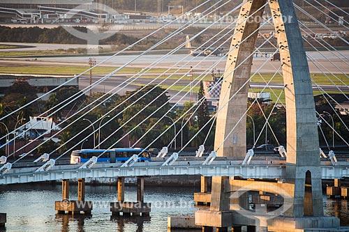 Ponte Prefeito Pereira Passos (2014) ônibus do BRT Transcarioca  - Rio de Janeiro - Rio de Janeiro (RJ) - Brasil