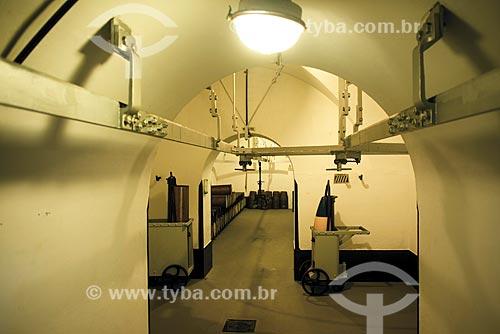 Interior do antigo Forte de Copacabana (1914-1987), atual Museu Histórico do Exército  - Rio de Janeiro - Rio de Janeiro (RJ) - Brasil