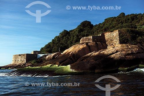Fortaleza de São João (1565) - também conhecida como Fortaleza de São João da Barra do Rio de Janeiro  - Rio de Janeiro - Rio de Janeiro (RJ) - Brasil