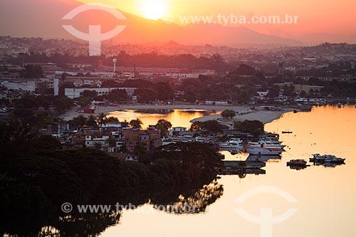 Vista aérea do Piscinão de Ramos  - Rio de Janeiro - Rio de Janeiro (RJ) - Brasil