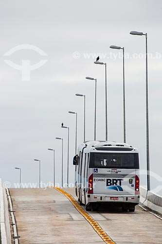 Ponte Prefeito Pereira Passos com BRT Transcarioca  - Rio de Janeiro - Rio de Janeiro (RJ) - Brasil