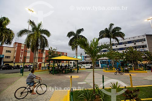Praça da Revolução próximo a Estação de trem de Edson Passos   - Mesquita - Rio de Janeiro (RJ) - Brasil