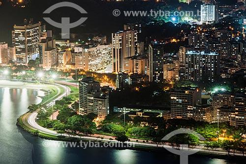 Avenida Infante Dom Henrique próximo à Casa do Estudante Universitário à noite  - Rio de Janeiro - Rio de Janeiro (RJ) - Brasil