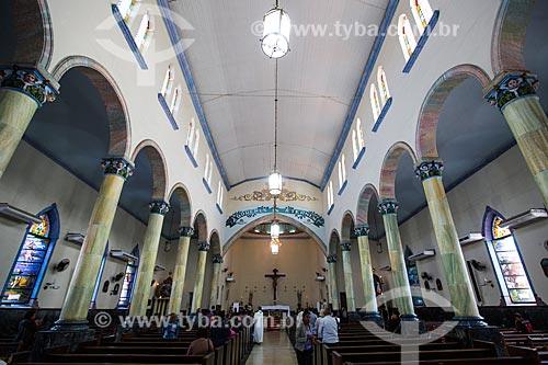 Interior da Paróquia de Santo Antônio de Jacutinga   - Nova Iguaçu - Rio de Janeiro (RJ) - Brasil