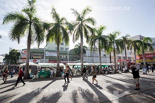 Vista da Praça Rui Barbosa ao fundo Feira Orgânica  - Nova Iguaçu - Rio de Janeiro (RJ) - Brasil