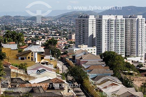 Vista do Alto do Morro do Cruzeiro   - Nova Iguaçu - Rio de Janeiro (RJ) - Brasil