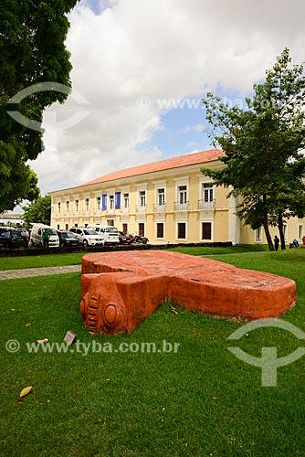 Fachada da Casa das Onze Janelas (Século XVIII)  - Belém - Pará (PA) - Brasil