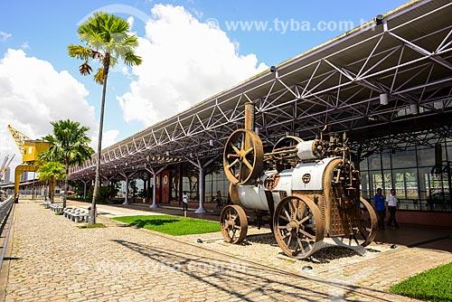 Vista do Armazém 2 (Boulevard da gastronomia) da Estação das Docas (2000) - anteriormente parte do Porto de Belém  - Belém - Pará (PA) - Brasil