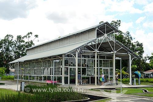 Armazém do Tempo no Parque Ambiental Mangal das Garças  - Belém - Pará (PA) - Brasil