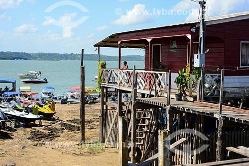 Casa às margens do Rio Tapajós  - Itaituba - Pará (PA) - Brasil