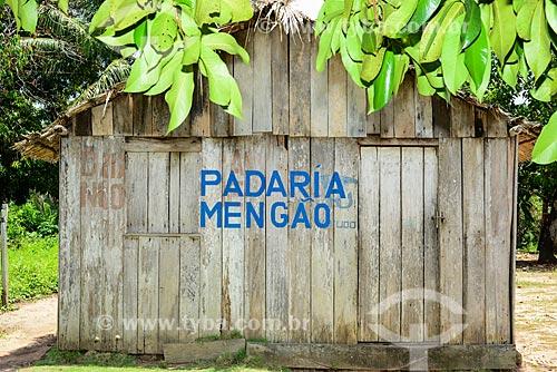 Padaria Mengão na Comunidade Pinhel  - Aveiro - Pará (PA) - Brasil