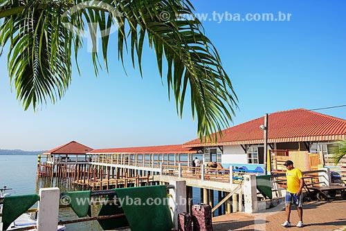 Terminal Hidroviário de Itaituba no Rio Tapajós  - Itaituba - Pará (PA) - Brasil