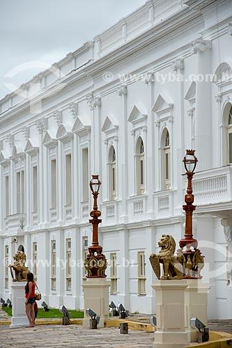 Palácio dos Leões (1766) - sede do Governo do Estado  - São Luís - Maranhão (MA) - Brasil