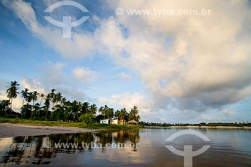 Vila de Santo Amaro às margens dos Lençóis Maranhenses   - Santo Amaro do Maranhão - Maranhão (MA) - Brasil