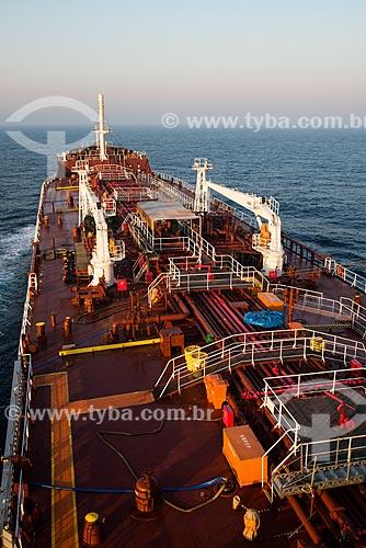Navio petroleiro Maisa na rota Rio-Buenos Aires  - Santa Catarina (SC) - Brasil