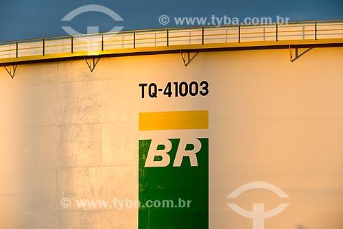 Tanque de óleo no Terminal de Terrestre de Cabiúnas (TECAB)  - Macaé