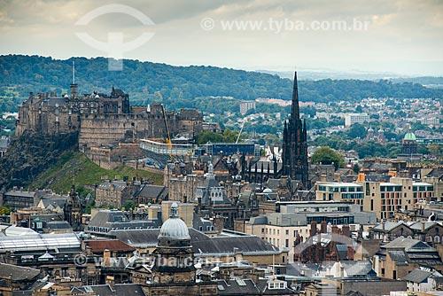 Vista geral de Edimburgo  - Edimburgo - Edimburgo - Escócia