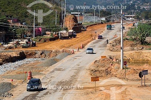 Obras de acesso ao Arco Metropolitano  - Nova Iguaçu - Rio de Janeiro (RJ) - Brasil