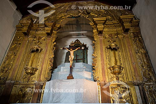 Interior da Igreja Nossa Senhora do Pilar (1728)  - Duque de Caxias - Rio de Janeiro (RJ) - Brasil