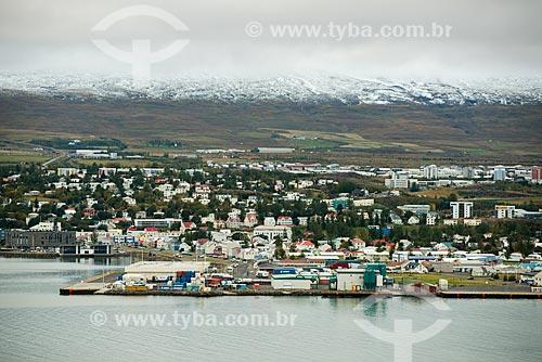 Vista geral da cidade de Akureyri  - Akureyri - Northeastern Region - Islândia