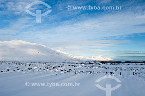 Vista da região da cidade de Akureyri  - Akureyri - Northeastern Region - Islândia