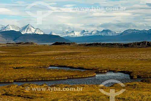 Paisagem no leste da Islândia  - Austurland - Islândia