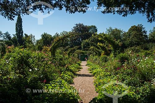Trilha no Jardim de Claude Monet - Jardim das Nymphéas  - Giverny - Eure - França