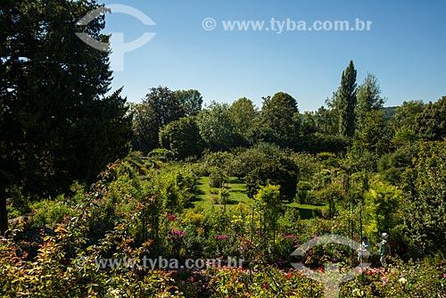 Vista geral do Jardim de Claude Monet - Jardim das Nymphéas  - Giverny - Eure - França