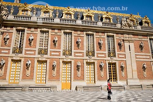 Château de Versailles (Palácio de Versalhes) - residência oficial da monarquia da Francesa entre os anos de 1682 a 1789  - Versalhes - Yvelines - França